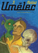 Ivan Mečl: Plakát obálky casopisu Umelec 3/1997