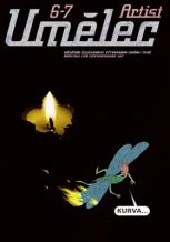 Ivan Mečl: Plakát obálky časopisu Umělec 6-7/1997